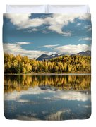Rock Lake Duvet Cover