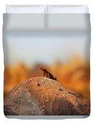 Rock Lizard Duvet Cover