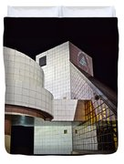 Rock Music Hall Of Fame Duvet Cover