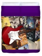 Rock 'n' Roll Forever Duvet Cover