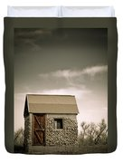 Rock Shed Duvet Cover