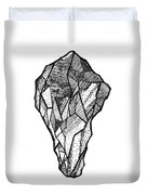 Rock Study Duvet Cover