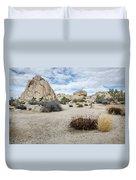 Rock Tower No.2 Duvet Cover