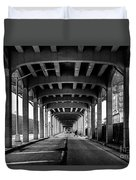 Rockaway Freeway, Queens New York Duvet Cover