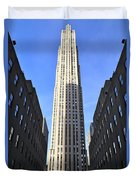 Rockefeller Center New York City Duvet Cover