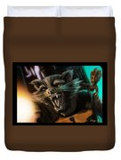 Rocket And Groot Duvet Cover
