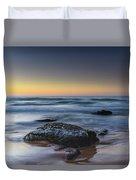 Rockin The Sunrise Seascape Duvet Cover