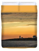 Rockport Lighthouse Duvet Cover