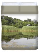 Rockport Reeds And Reflections Duvet Cover