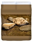 Rocks At Rest Duvet Cover