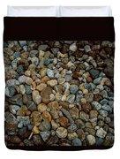 Rocks From Beaches Duvet Cover
