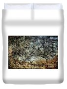 Rocky Abstraction Duvet Cover