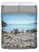 Rocky Beach Duvet Cover by James Billings