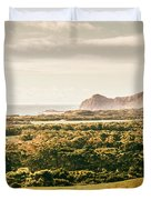 Rocky Capes And Rugged Coasts Duvet Cover