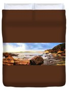 Rocky Cliffs Duvet Cover