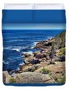 Rocky Coastline 1 Duvet Cover
