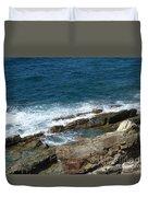 Rocky Coastline Duvet Cover