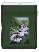 Rocky Creek Duvet Cover