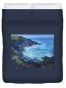 Rocky Creek Viewpoint Duvet Cover