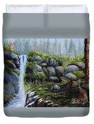 Rocky Falls Duvet Cover