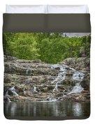 Rocky Falls Ozark National Scenic Riverways Dsc02788 Duvet Cover