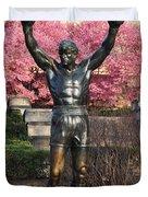 Rocky In Spring Duvet Cover