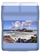 Rocky Island Duvet Cover
