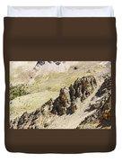 Rocky Landscape - 3 - French Alps Duvet Cover