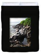 Rocky Maui Coast Duvet Cover
