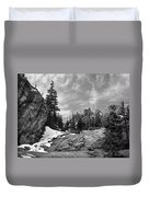 Rocky Mountain Beauty Duvet Cover