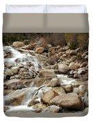 Rocky Mountain Cascade Duvet Cover