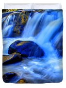 Rocky Mountain Cascade Duvet Cover