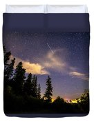 Rocky Mountain Falling Star Duvet Cover