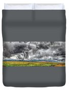 Rocky Mountain Panorama Hdr Duvet Cover