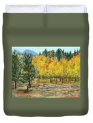 Rocky Mountain Siesta Duvet Cover