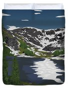 Rocky Mountain Duvet Cover