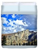 Rocky Mountain Summit Duvet Cover