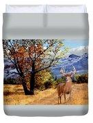 Rocky Mountain Trail Duvet Cover