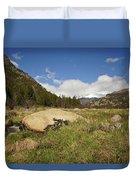 Rocky Mountain Valley Duvet Cover