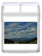 Colorado Rocky Mountain High Duvet Cover