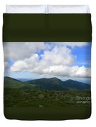 Rocky Mountain Way  Duvet Cover
