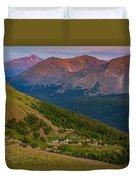 Rocky Mountain Wilderness Duvet Cover