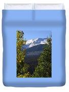 Rocky Mountains Mtn M 207 Duvet Cover