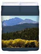 Rocky Mts Mtn M 209 Duvet Cover