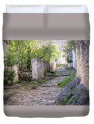 Rocky Pathway Duvet Cover