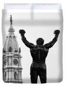 Rocky - Philly's Champ Duvet Cover