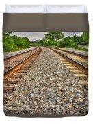 Rocky Railroad Rails Duvet Cover