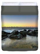 Rocky Seascape Duvet Cover