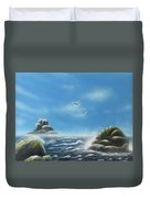 Rocky Shores Duvet Cover