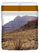 Rocky Slope Grand Canyon Duvet Cover